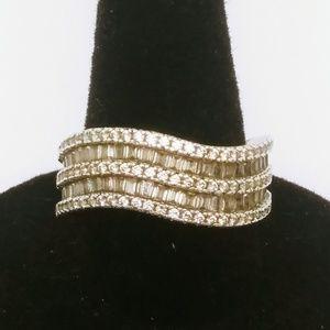 HSN Diamonique ring